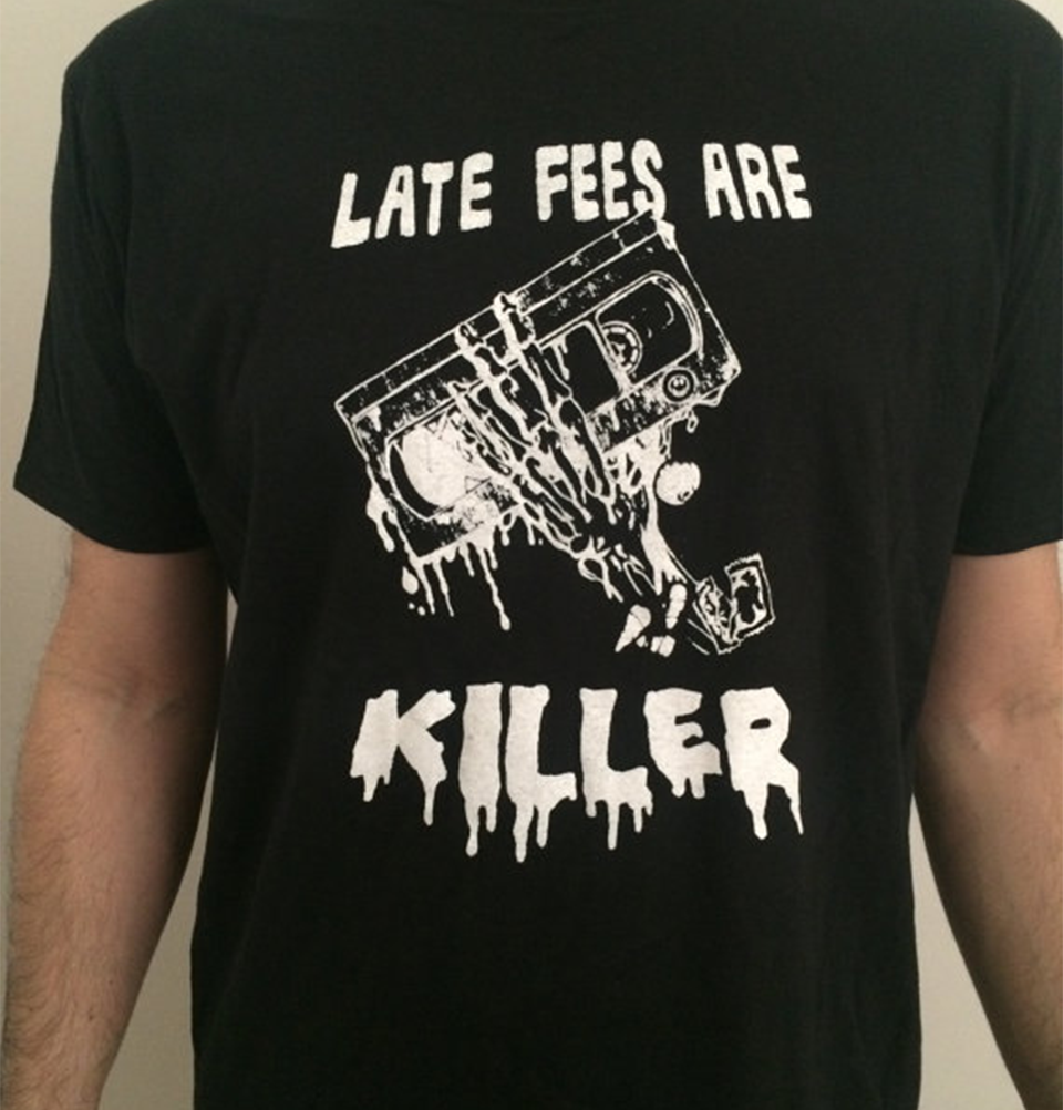 Late Fees Are Killer - White Ink