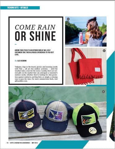 Gifts & Decorative Accessories magazine Top Outdoor Picks, Come Rain or Shine