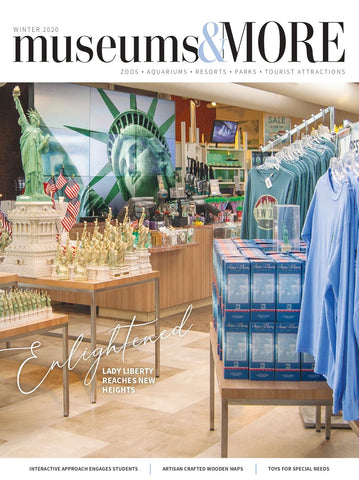 RainCaper as featured in Winter 2020 issue of Museums & More magazine