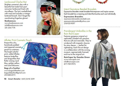 Fine Art RainCaper as seen in Smart Retailer magazine