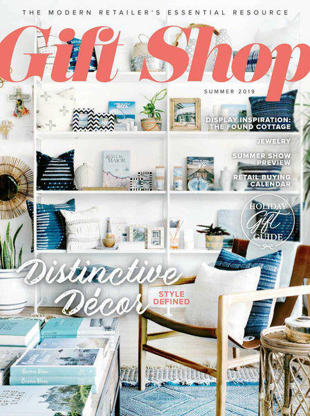 Gift Shop magazine cover Spring 2019
