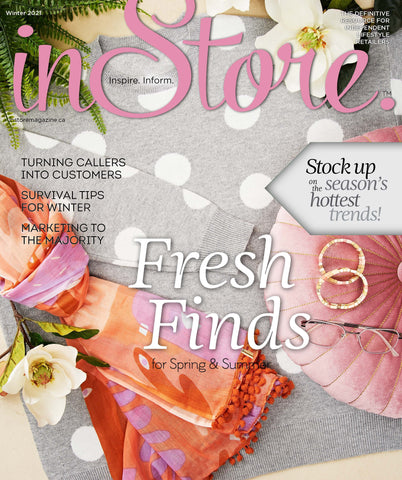 Cover of the Winter 2021 issue of InStore magazine