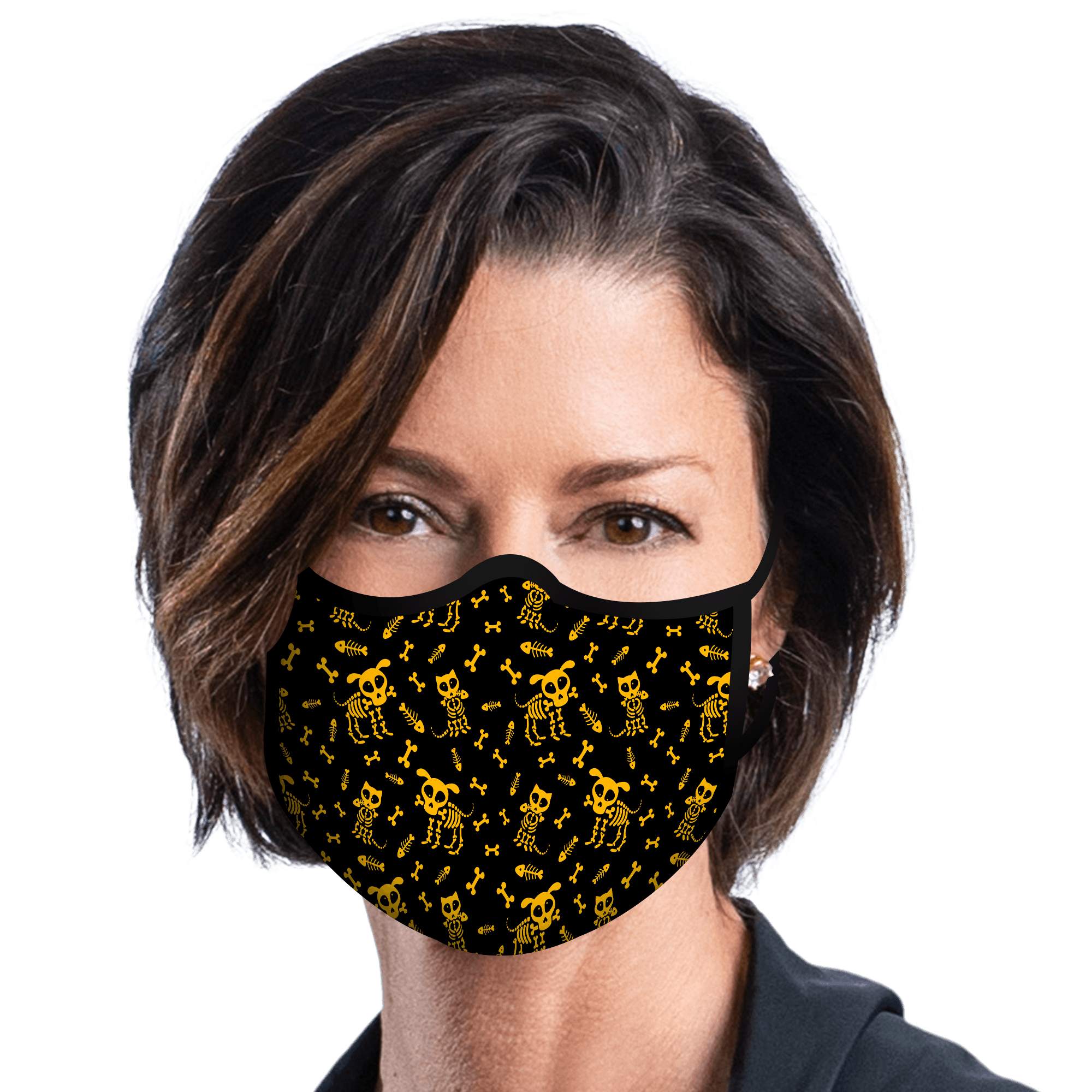 RainCaper Little Bones Reusable Fabric Face Mask