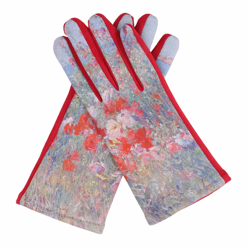 Fine Art Hassam Celia's Garden/Isles of Shoals Texting Gloves