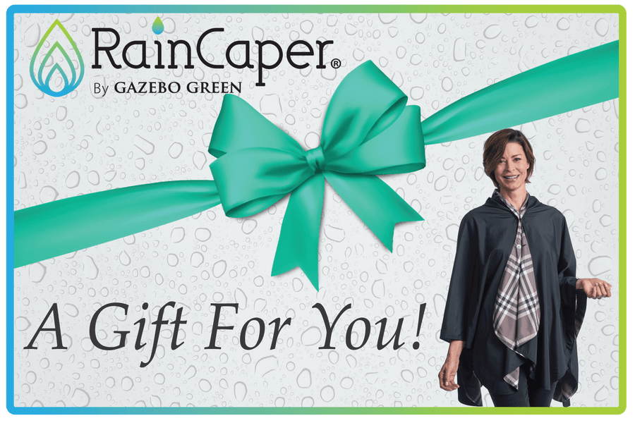 RainCaper Gift Cards on SALE now only $25.00