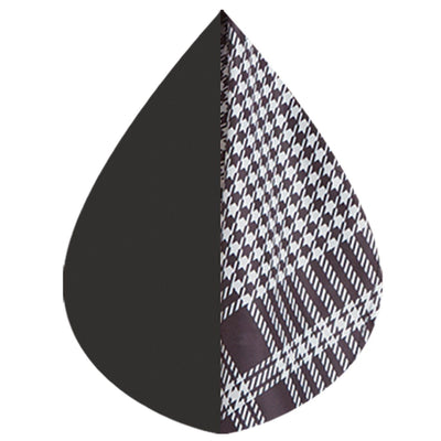 RainCaper Black/White Houndstooth Plaid - Best Seller!