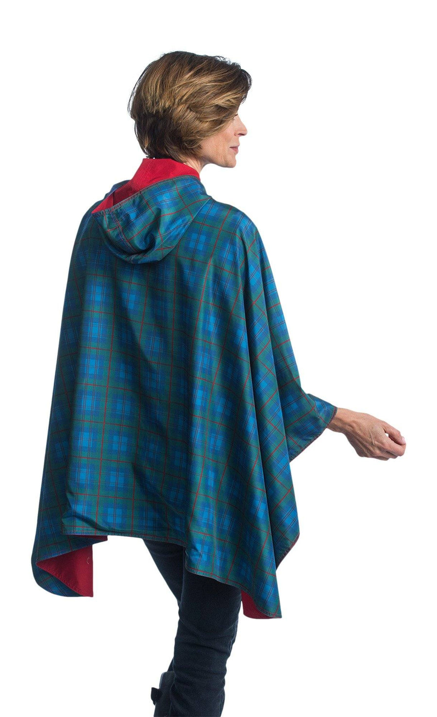 RainCaper Berry & Tartan on SALE now only $54.99