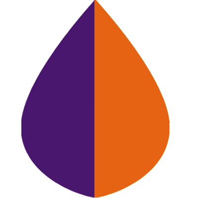 SpiritCaper Orange & Purple