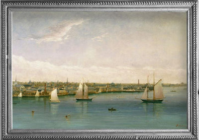 Fine Art RainCaper - Nicholson Newport Harbor Travel Cape - Last One!