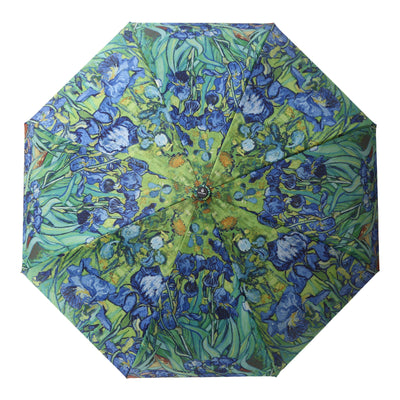 RainCaper van Gogh Irises Reverse Umbrella