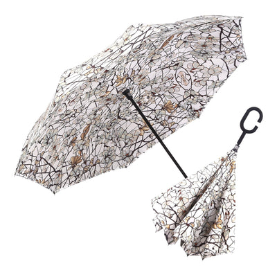 RainCaper Tiffany Magnolia Reverse Umbrella