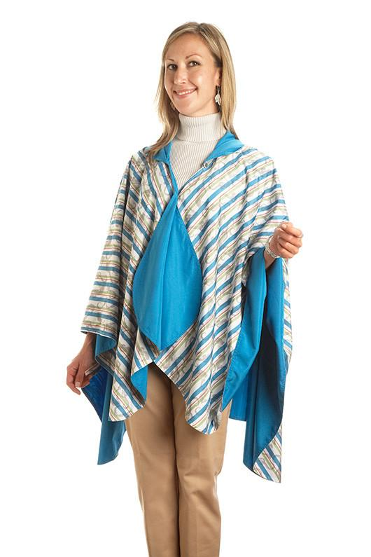 RainCaper Reversible Rain Poncho - Caribbean/Seahorse $49.99 Only 2 left! on SALE now only $54.99