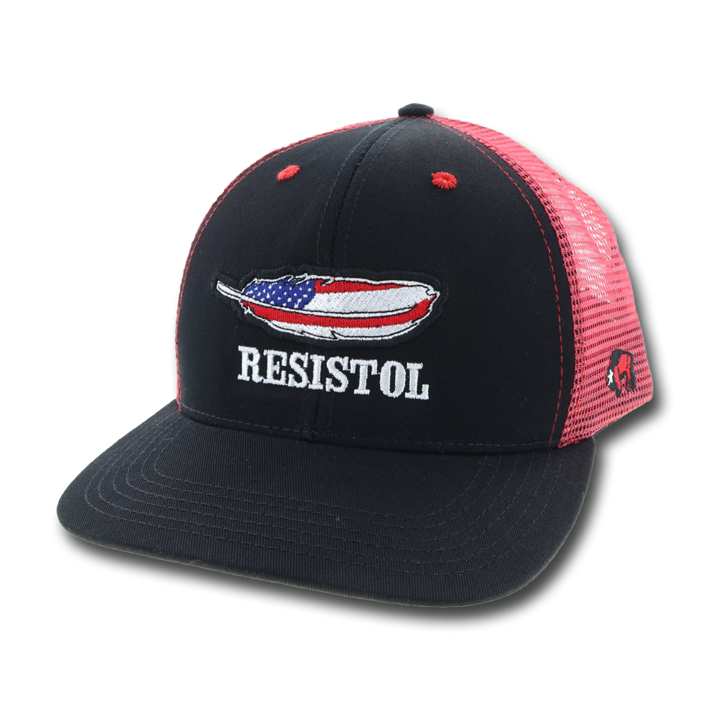 """Resistol"" Black / Red"