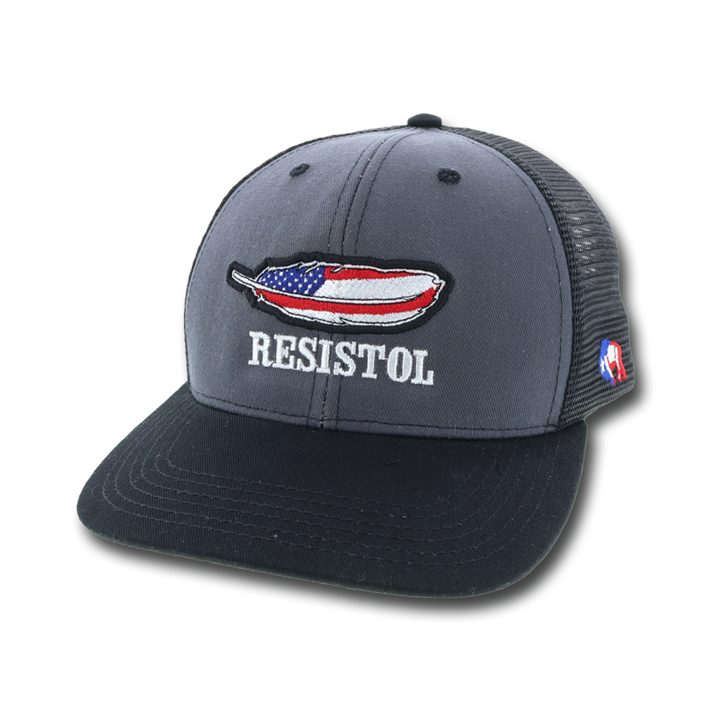 """Resistol"" Gray / Black / Red"