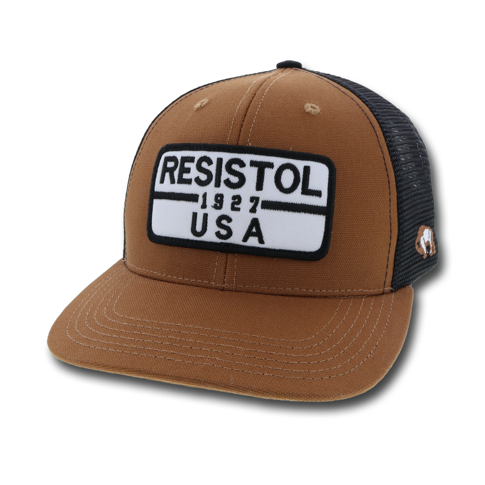 """Resistol"" Tan / Black"