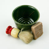 Shaving Bowl & Brush