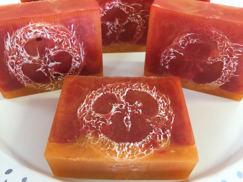Blood Orange Loofah Bar Soap