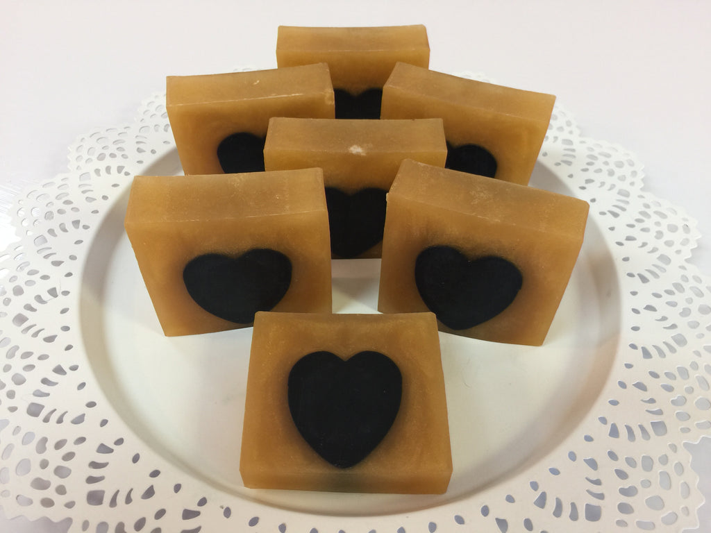 Valentines Day Cold Dead Heart Soap