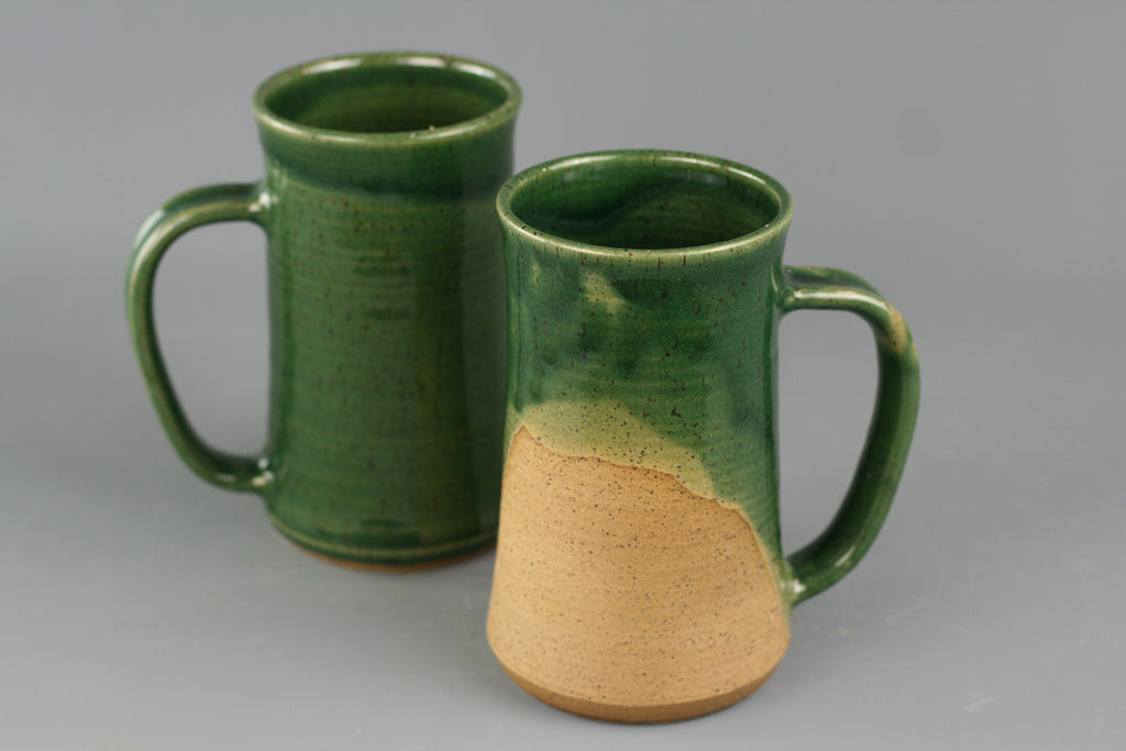 London Green Glaze Ceramic Mug