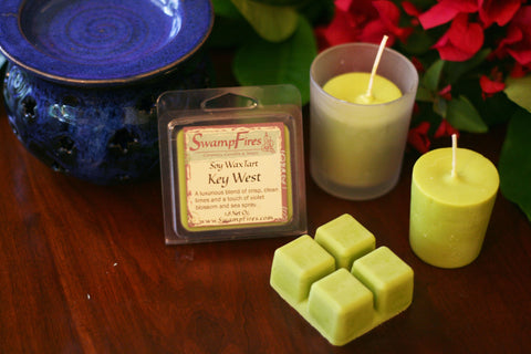 Key West - Tart Floral Soy Wax Tarts