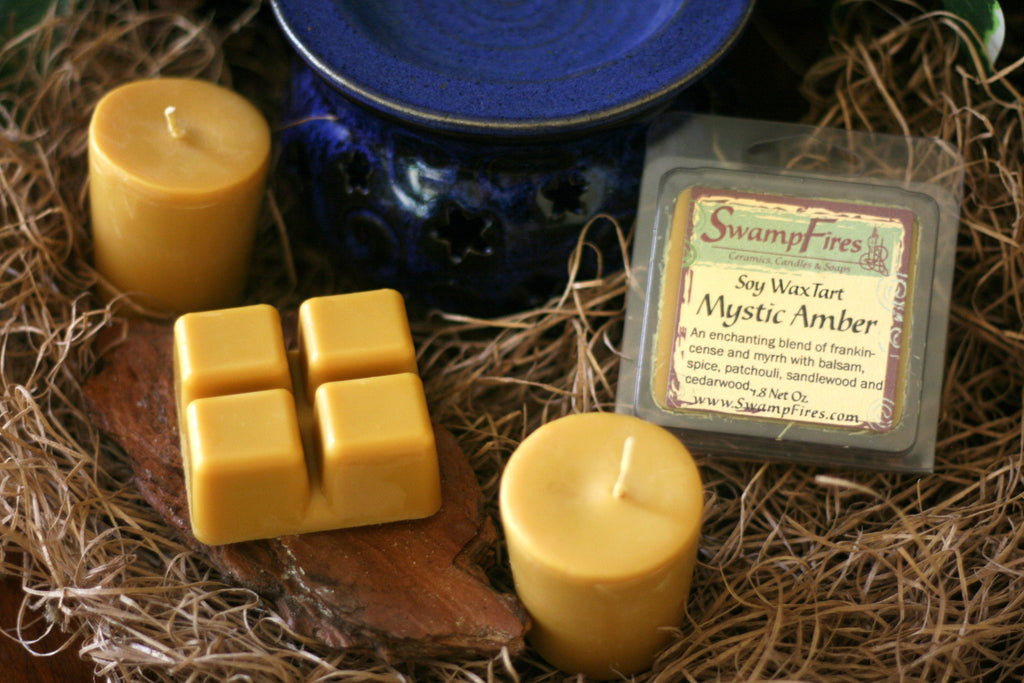 Mystic Amber - Hippie Spice Soy Wax Tarts
