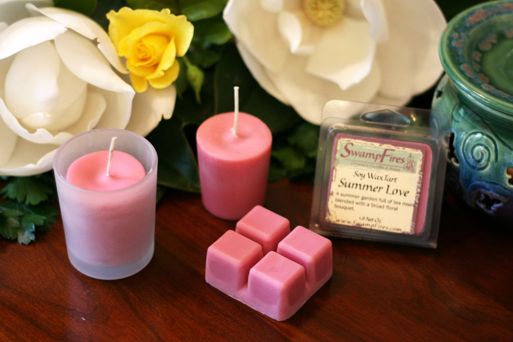 Summer Love - Soft Floral Soy Wax Tarts