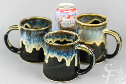 Chocolate Stout Glaze Ceramic Mug
