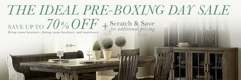 The Ideal Pre-Boxing Day Sale - PLUS Scratch & Save for additional savings