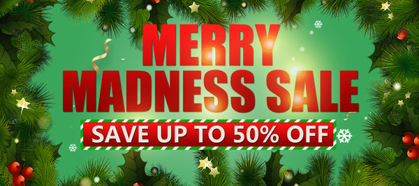 Merry Madness Sale