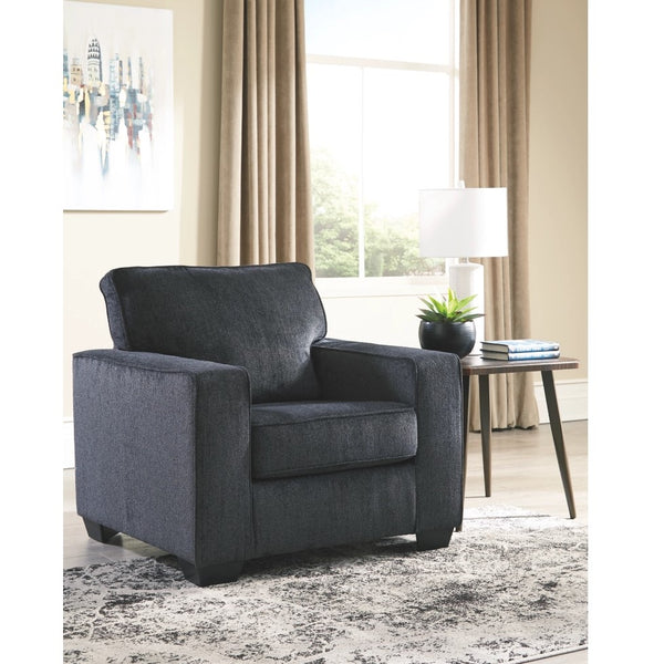 Edmonton Furniture Store | Slate Grey Fabric Accent Chair - 872