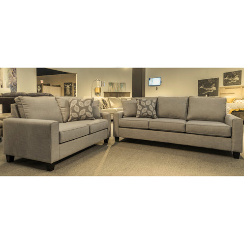 Edmonton Furniture Store | Made in Canada Track Arm Custom Sofa Loveseat - 1025