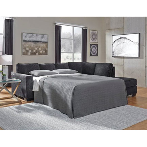 Edmonton Furniture Store | Slate Grey Modular Sectional Bed - 872