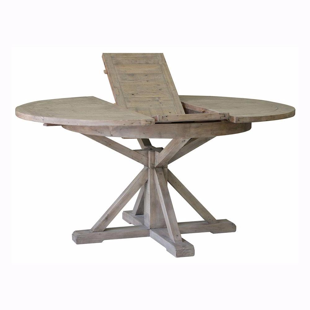Irish Coast Round Extension Dining Table - Sundried
