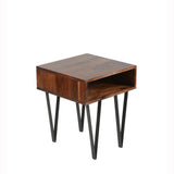 Matrix Side Table- Sheesham Rosewood