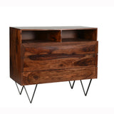 Matrix 3 Drawer Dresser - Sheesham Rosewood