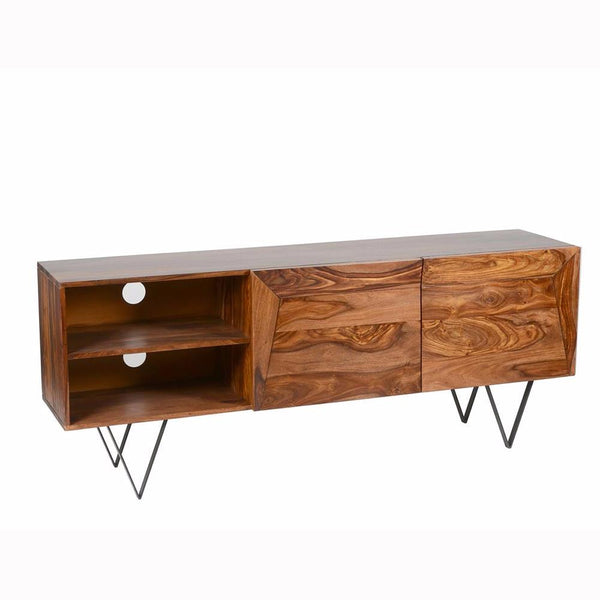 Matrix TV Cabinet - Sheesham Rosewood