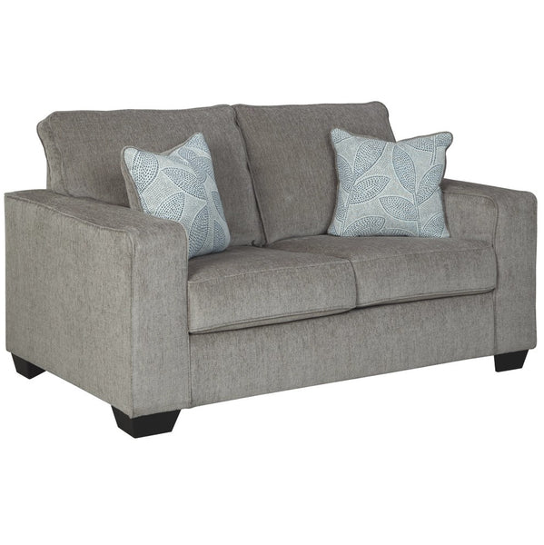 Edmonton Furniture Store | Cream Fabric Loveseat - 872