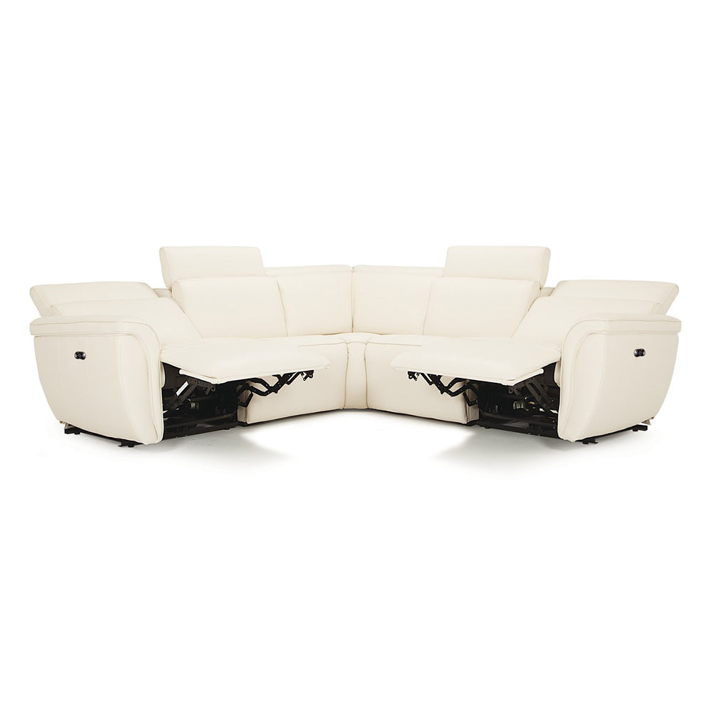 Canadian Made Custom Palliser 5PCs Reclining Sectional - Shorecrest