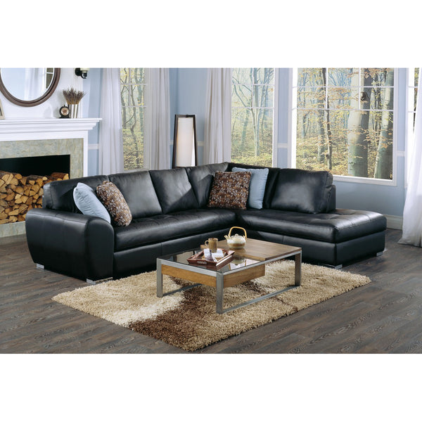 Palliser Custom Black Sectional - Kelowna