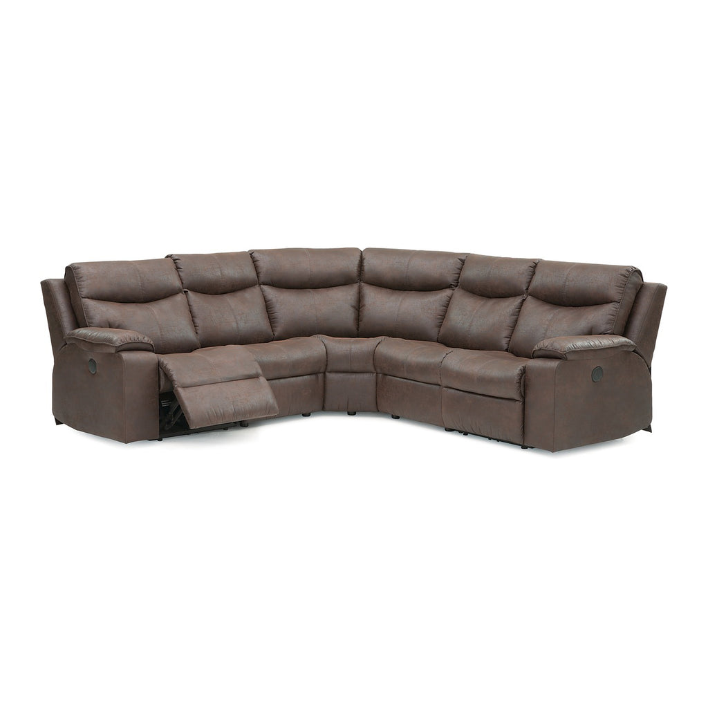 Palliser Custom Made Manuel Recliner Sectional - Providence