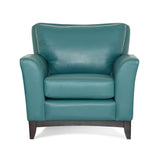 Palliser Custom Chair with Wood Base and Sweet Heart Back - India