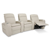 Palliser Custom Power Home Theatre Seating w/ Headrest and Lumber Support - Vertex