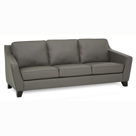 Edmonton Furniture Store | Palliser Custom Curve Track Arm Sofa - Helena