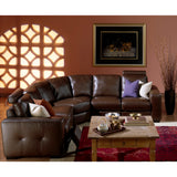 Palliser Custom Manuel Reclining Sectional - Push
