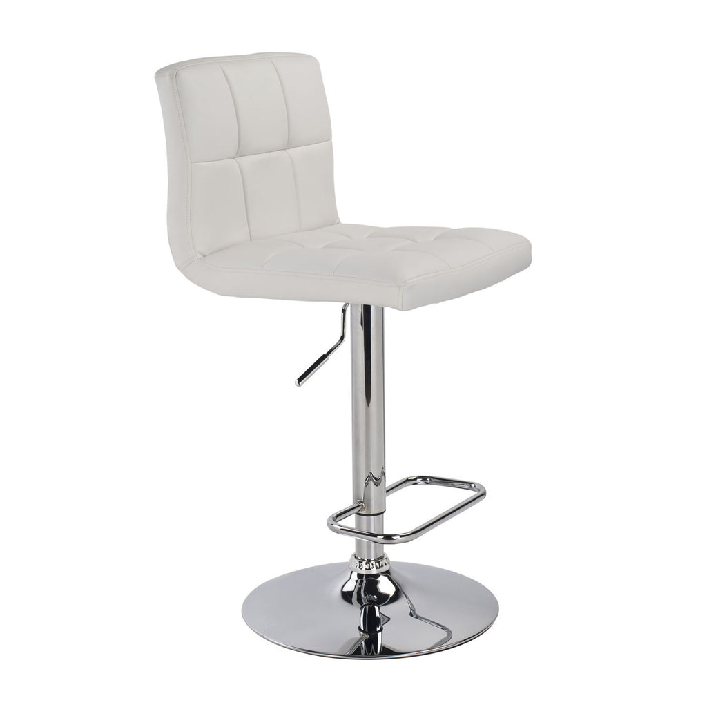 White Color Color Bar Stool - Max