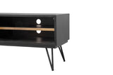 Modern Rustic Media Unit - Noir Havana
