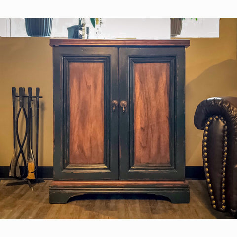Edmonton Furniture Store | Uttermost Rustic Storage Bar Cabinet - 25663