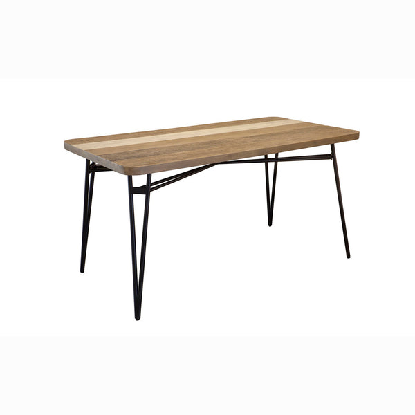 Modern Rustic Dining Table - Noir Havana