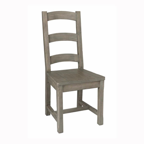 Irish Coast Ladder Back Chair - Black Olive