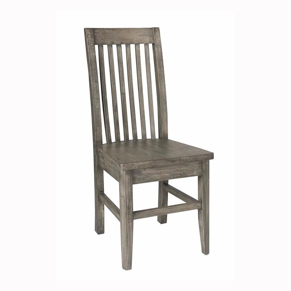 Irish Coast Slat Back Chair - Black Olive